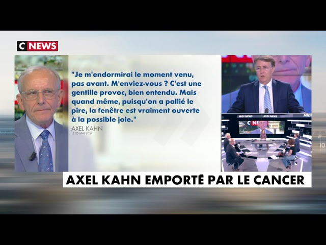 Hommage à Axel Kahn