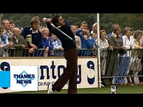 Seve Ballesteros - The Pro-Am Tournament | Thames News Archive Footage