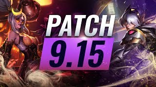 Best Champions TIER List – League of Legends Patch 9.15