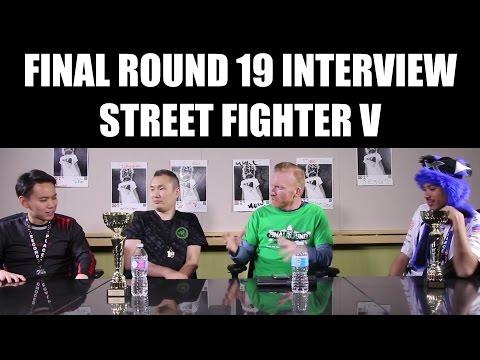 Final Round 19 Interview: RZR Infiltration, MCZ Tokido & cR Sonic Fox