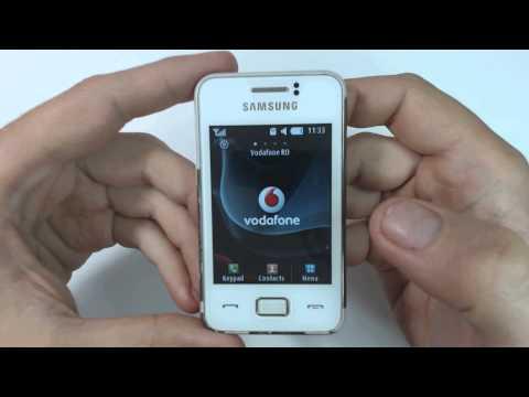Samsung Star 3 S5229 factory reset