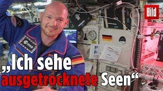 Live von ISS: Astro Alex beantwortet Fragen aus Deutschland