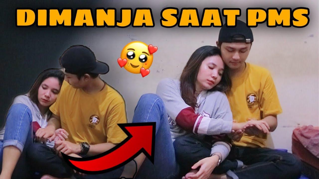 Download PRANK PMS DI DEPAN PACAR,REAKSI PACARKU SWEET BANGET