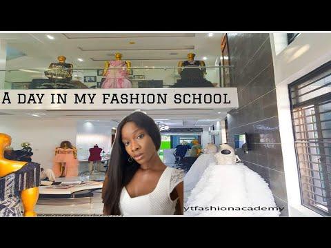 vlog:Best fashion school in Lagos?? A day in my fashion school