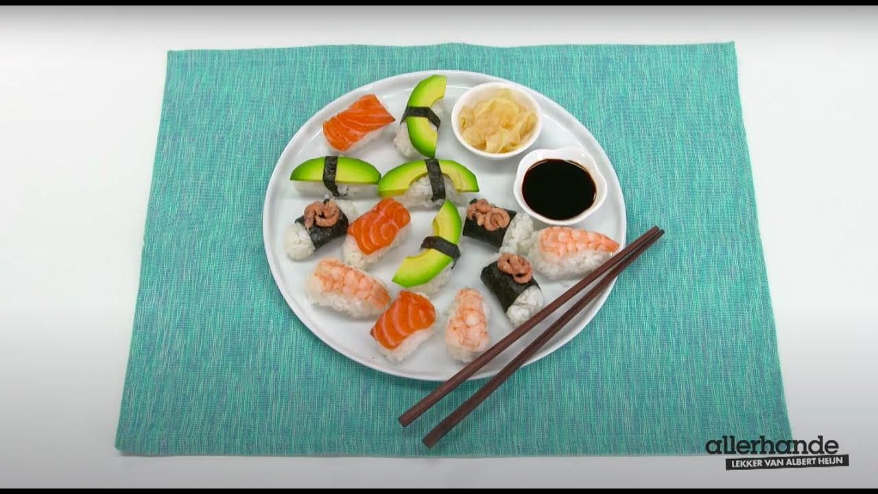allerhande sushi maken