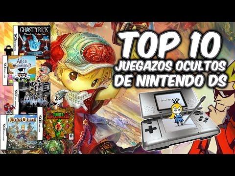 Top 10 | Grandes juegos desconocidos de Nintendo DS (NDS)