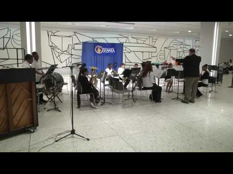 Clara H. Carlson Elementary School Wind Ensemble Perform in the Empire State Plaza