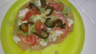 TOSTADAS RASPADAS Mexican food RECIPE estilo JALISCO