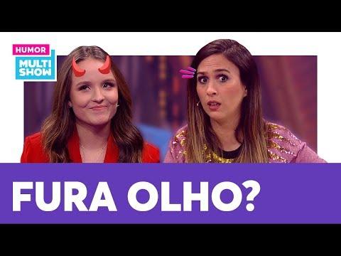 Larissa Manoela é FURA OLHO? Sente Saudade Do EX? Tatá Werneck Faz Perguntas ÍNTIMAS | Lady Night