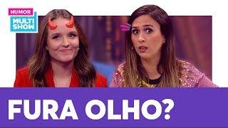 Larissa Manoela é FURA OLHO? Sente saudade do EX? Tatá Werneck faz perguntas ÍNTIMAS   Lady Night