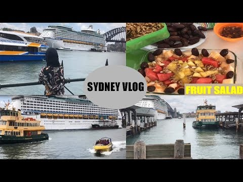 Time In Sydney / Me & My Sister / Fruit Salad / Fish & Chips Lunch