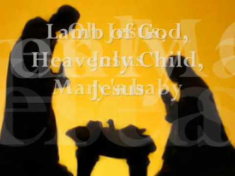 Mariah Carey's  Jesus, Oh what a wonderful child LYRIC video