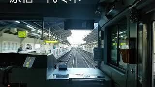 山手線 目黒~鴬谷~終点 上野行きの外回り最終列車全面展望