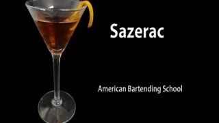Sazerac Cocktail Drink Recipe