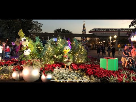 Epcot Festival Of The Holidays 2017- D Tours #86 11/29/17
