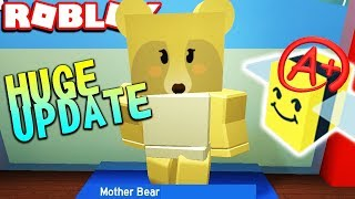 HUGE UPDATE! MOTHER BEAR, GIFTED BEES & MORE | Bee Swarm Simulator Gameplay