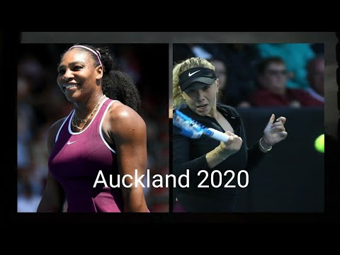 Auckland International 2020/ Serena Williams vs Amanda Anisimova