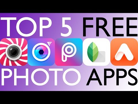 Top 5 Free Photo Editing Apps