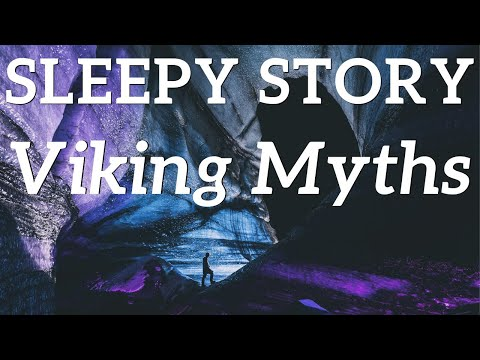 """Bedtime Stories for Grown Ups   Reading from """"The Children of Odin"""" ⚡ Norse Myths ⛰️ Without music"""