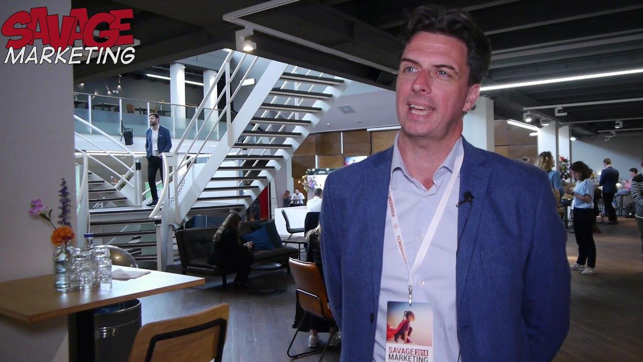Spencer Waldron, Prezi at Savage Marketing in Amsterdam