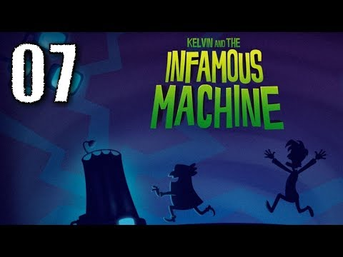 """Let´s Play """"Kelvin and the Infamous Machine"""" #07 (German/Deutsch) SHOOT THE APPLE! [HD+]"""