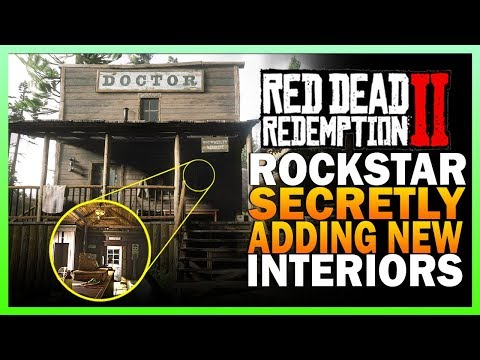 Rockstar Secretly Adding New Interiors In Red Dead Redemption 2 Online thumbnail