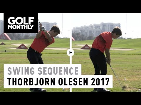 2017 Thorbjorn Olesen Swing Sequence | Golf Monthly