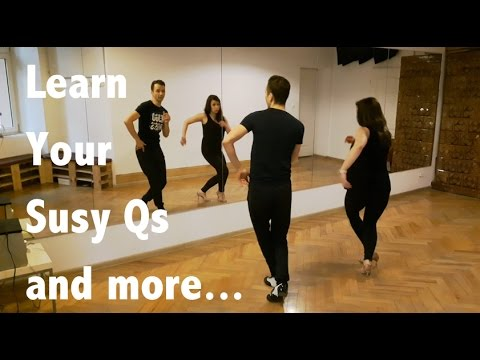 Learn Your Susy Q | Salsa Footwork Lesson #13