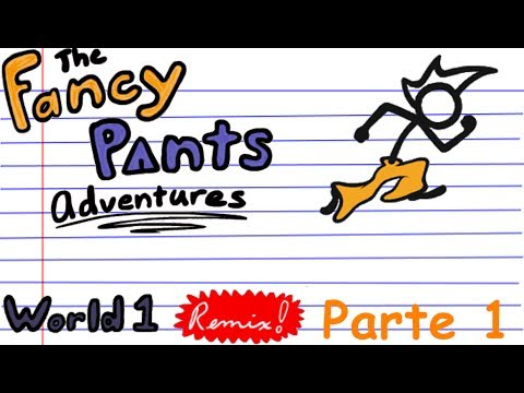 The fancy pants adventures world 1 remix gameplay parte 1 youtube