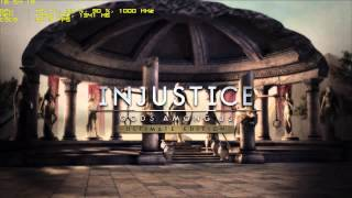 Injustice Gods Among Us. Ultimate Edition PC test HD7950