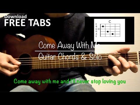 Come Away With Me (Norah Jones) - Guitar Chords and Solo / Takashi Terada