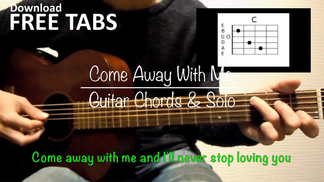 Come away with me norah jones guitar chords and solo takashi come away with me norah jones guitar chords and solo takashi terada hexwebz Choice Image