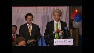 Racist words from dutch politician Geert Wilders against Moroccans