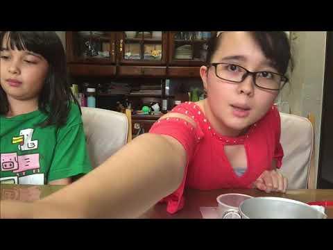 Audrey & Kate make Pancakes!