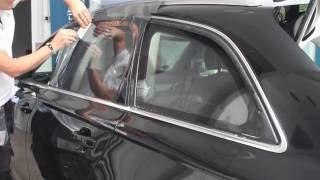 SL Anleitung zur Montage von Autosonnenschutzfolien u. Tönungsfolien DIY