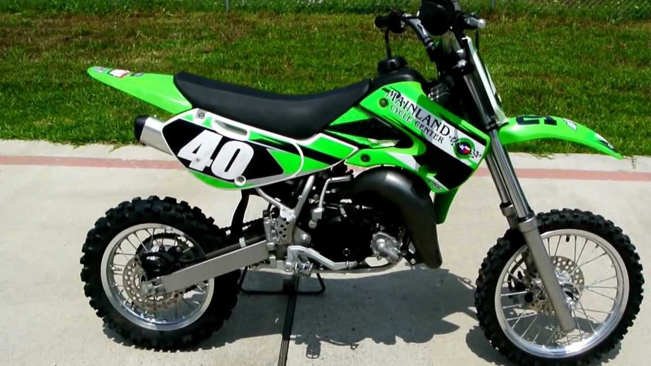 2009 Kawasaki Kx65 Youth Motorcross Bike Youtube