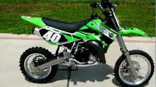 2009 Kawasaki KX65 Youth Motorcross Bike!