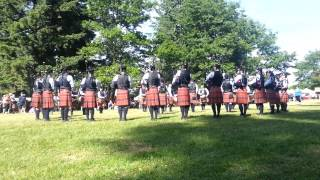 SFU Pipe Band Medley Bellingham 2015