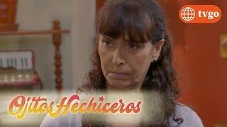¡Sabrina le pega e insulta a Panchita y Chabela sale a defenderla! - Ojitos Hechiceros 13/07/2018