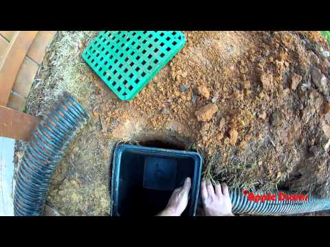 CATCH BASIN for Do It Yourself Project, by Apple Drains, Drainage Contractors, North Carolina