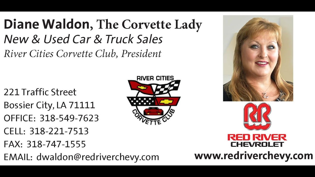 The Corvette Lady Sells A Chevy Spark