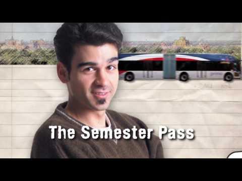 VIA Metropolitan Transit - Semester Pass :30 TV