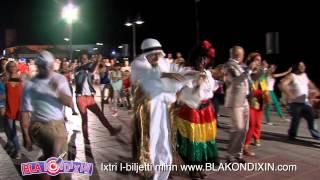 bla kondixin blurred lines flash mob