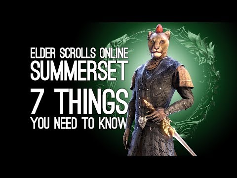 ESO Summerset: 7 Things You Need to Know About Elder Scrolls Online Summerset Expansion