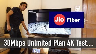 New Jio Fiber 30Mbps Unlimited Plan Tested Wow or Meh