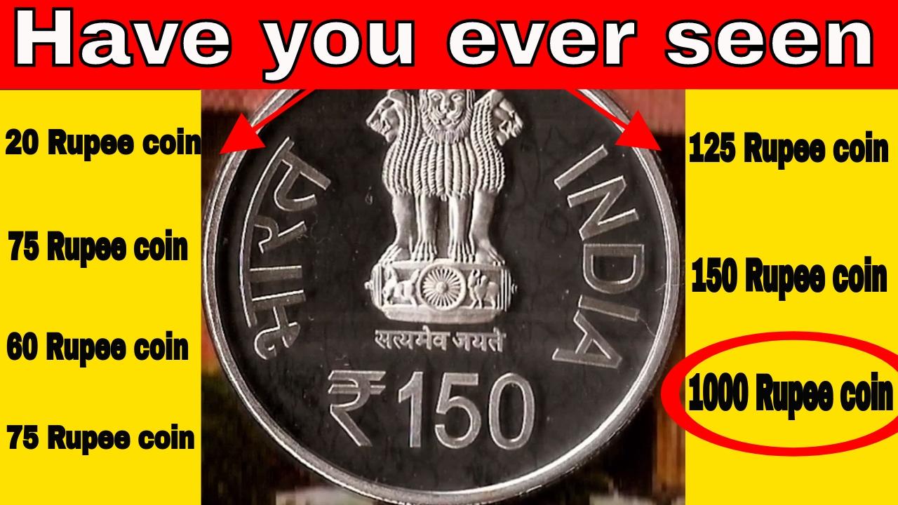 1000 Rupees (1000 Years of Brihadeeswarar Temple) - India ...  Indian Rupee Coin 1000