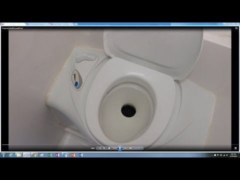 Caravan Toilet Operation & Preparing Cassette - For Beginners - Fozzie's Views