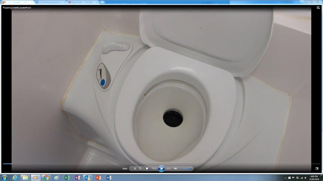Caravan Toilet Operation Preparing Cassette For Beginners Hobby Wiring Diagram Youtube Premium