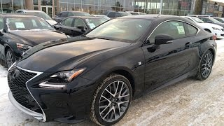 New Black on Rioja Red 2015 Lexus RC 350 AWD F Sport Series 2 Review