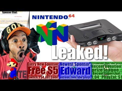 N64 CLASSIC LEAKED